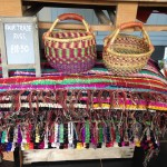 Fairtrade rugs and baskets